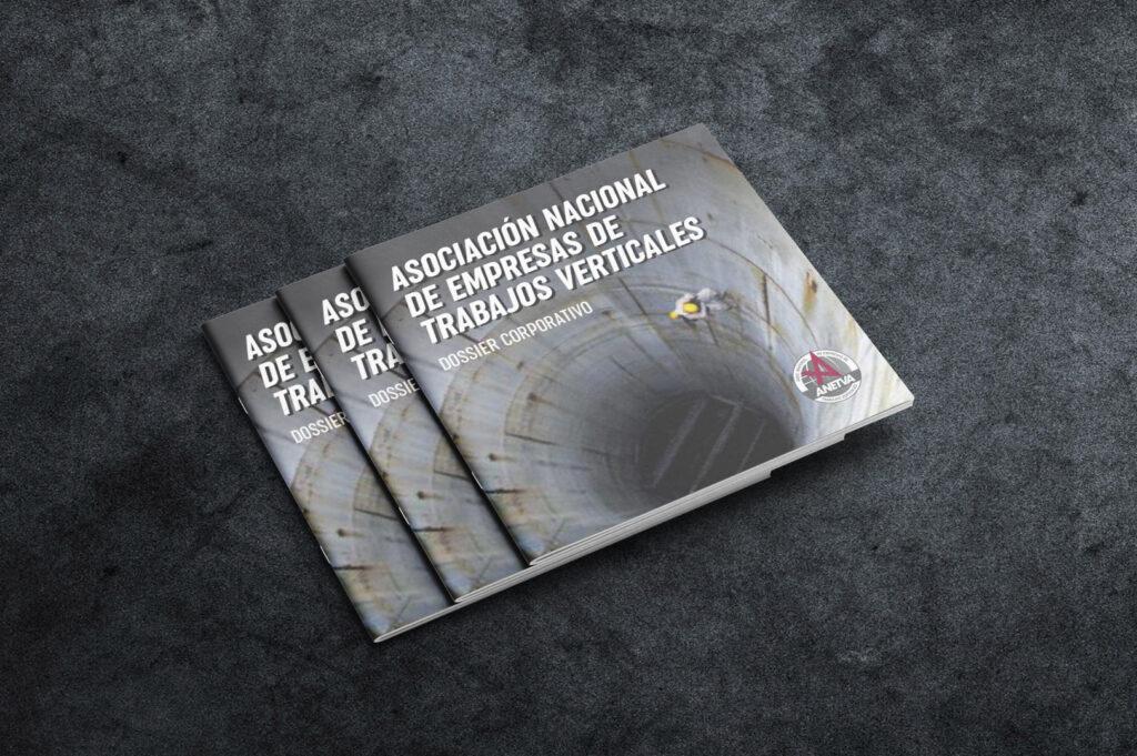 Diseño dossier Vexel de Anetva